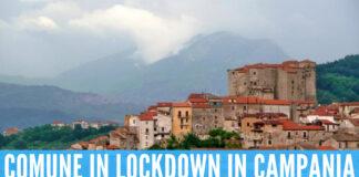 Roccadaspide lockdown