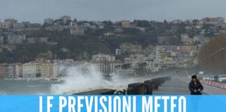 Temporali e raffiche di vento in arrivo, da domani scatta l'allerta meteo a Napoli
