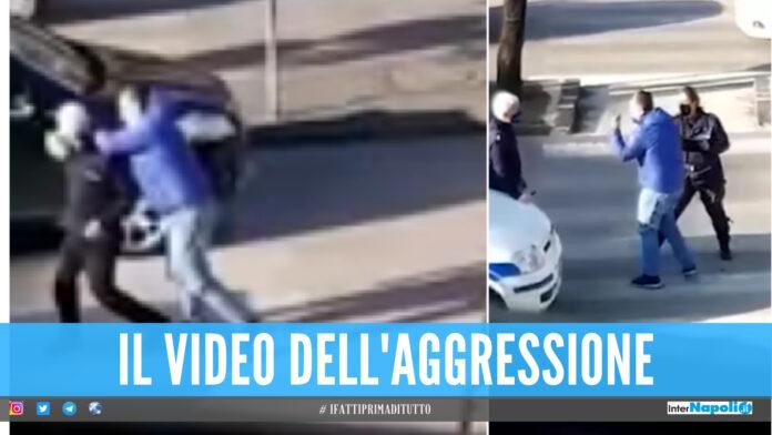 Vigile aggredito in strada in provincia di Salerno, il video diventa virale