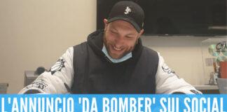 Clementino, l'annuncio da bomber sui social