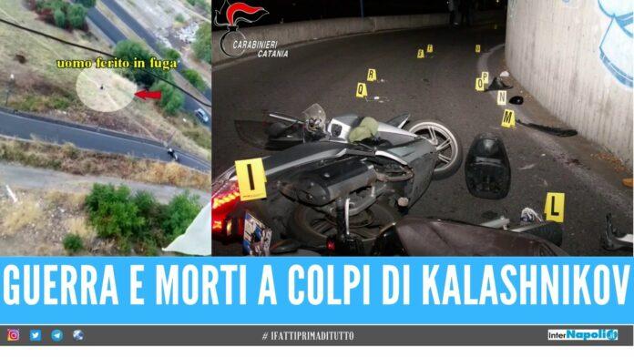 mafia video clan sparatoria