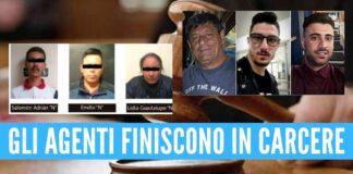 carcere poliziotti napoletani scomparsi in messico poliziotti