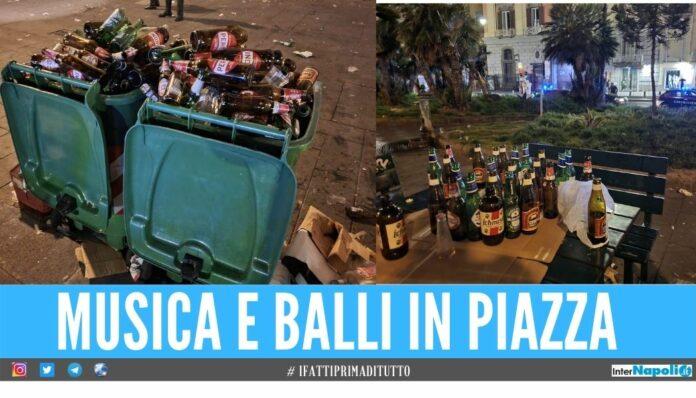 napoli piazza festa musica