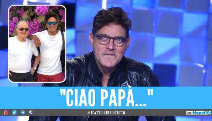 Gabriel Garko e il papà Claudio Oliviero