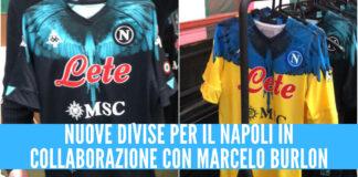 nuove divise Napoli Marcelo Burlon