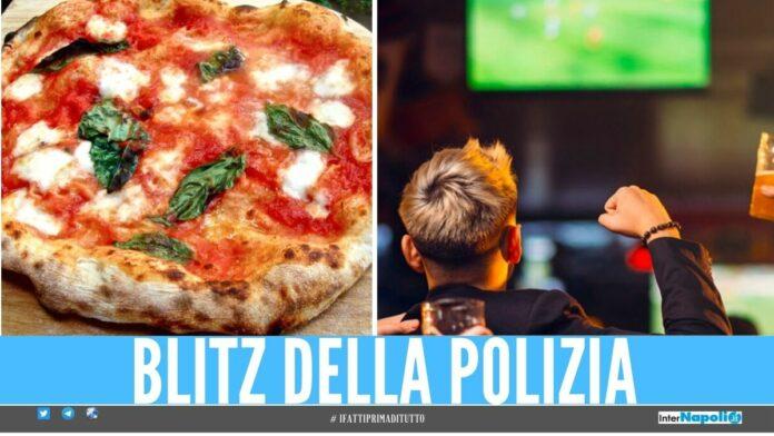 pizzeria giugliano polizia