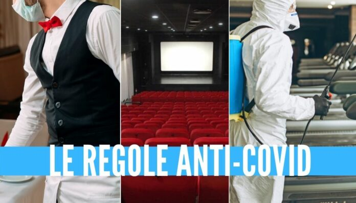 riaperture cinema palestre ristoranti decreto
