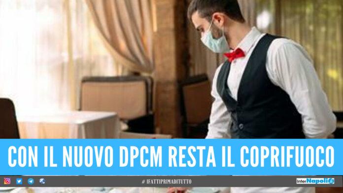 ristoranti pizzerie nuovo dpcm