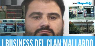 Le aziende sequestrate al clan Mallardo