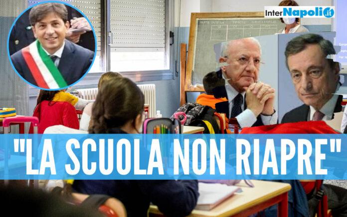 Il sindaco di Parete Gino Pellegrino