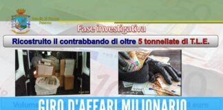 stecche sigarette contrabbandieri napoli