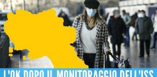 Campania zona gialla Covid