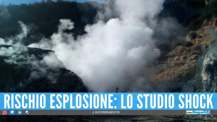 Campi Flegrei a rischio esplosione: lo studio shock