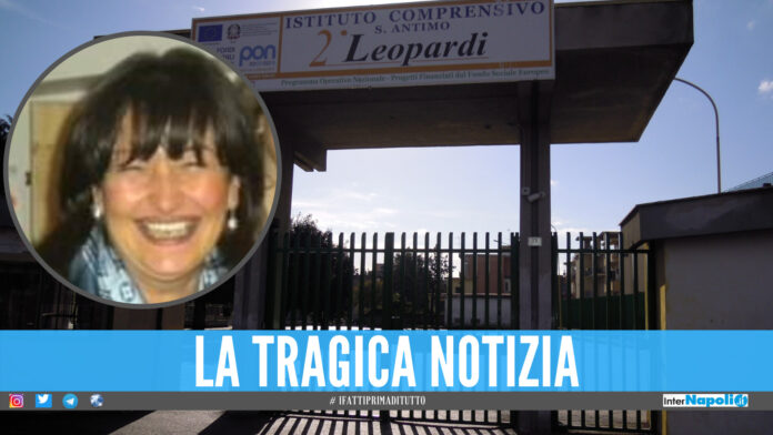 Sant'Antimo piange Rosa, morta l'insegnante dall'Istituto Giacomo Leopardi