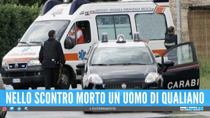 Guida ubriaco e va contromano, incidente mortale a Giugliano: 26enne arrestato dai carabinieri