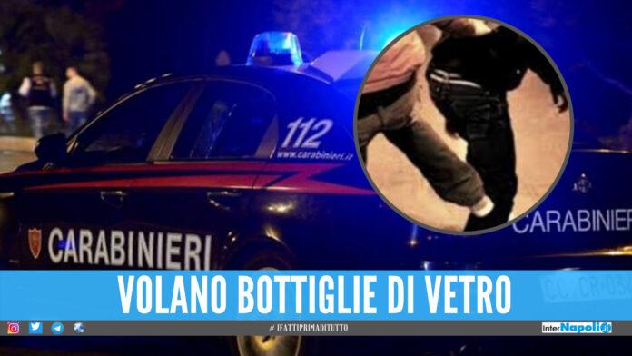 Movida selvaggia a Napoli, rissa tra giovani con bottiglie di vetro oltre il coprifuoco