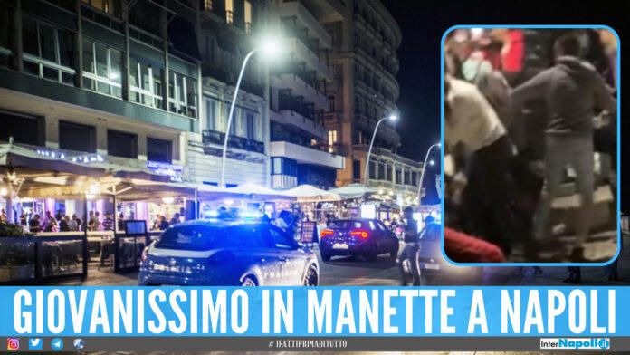 Napoli, lite finisce nel sangue: 15enne arrestato