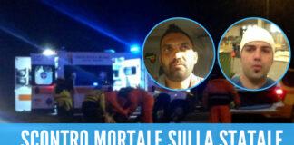Asfalto killer nel Casertano: hanno perso la vita Gabriele Barile, 38enni di Cervino e Antonio Ferrara 37 anni