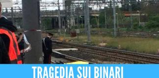Frattamaggiore, tragedia sui binari