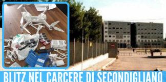 Blitz nel carcere di Secondigliano