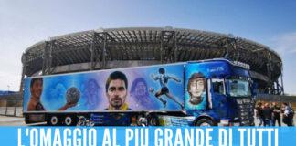Camion dedicato a Diego Armando Maradona