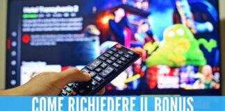 Arriva il nuovo bonus tv da 100 euro, si può richiedere anche senza Isee