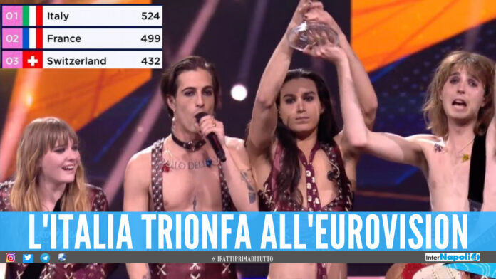 I Maneskin trionfano all'Eurovision