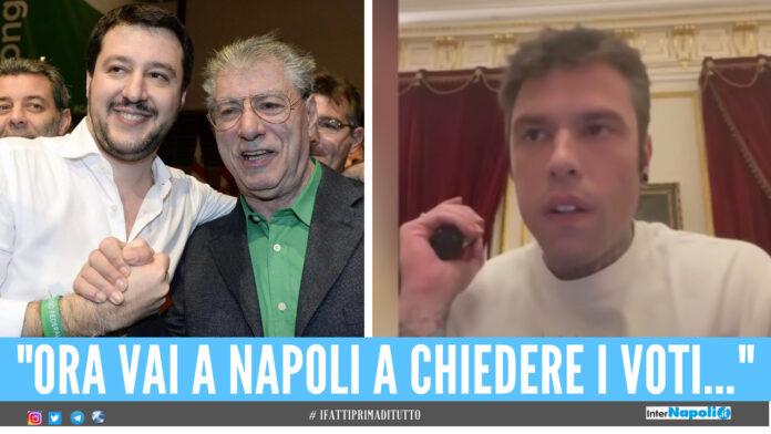 Salvini, Bossi e Fedez
