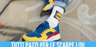 Tornano in vendita le scarpe della Lidl, a novembre erano sold out dopo poche ore