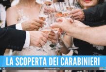 Scoperto matrimonio in provincia di Napoli, c'erano 30 invitati: multati anche gli sposi