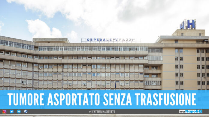 Operazione 'record' al Fazzi di Lecce, asportato tumore raro di 10 chili