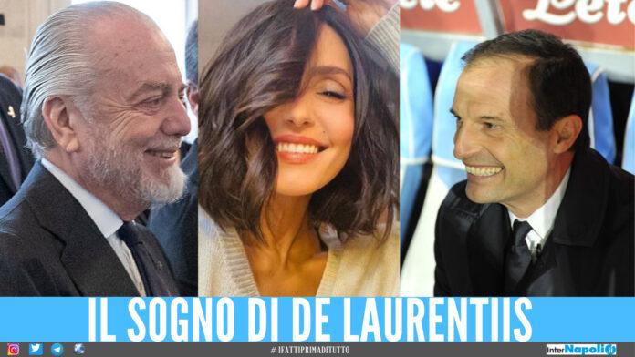 De Laurentiis panchina Napoli