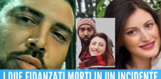 Caserta piange Chiara e Pasquale, la coppia morta dopo un tragico incidente