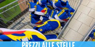 Tornano disponibili le scarpe Lidl, sul web prezzi folli fino a 700 euro