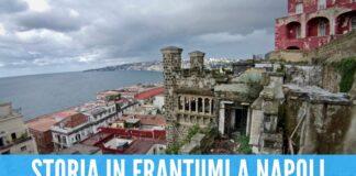 Villa Ebe a rischio crollo a Napoli, scatta il sequestro