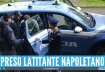 Arresto polizia: latitante beccato in strada a Napoli