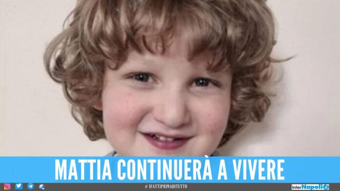 Mattia morto a 4 anni, aveva una malformazione al cuore: i genitori donano gli organi