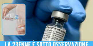 Vaccino Pfizer: 4 dosi per una 23enne