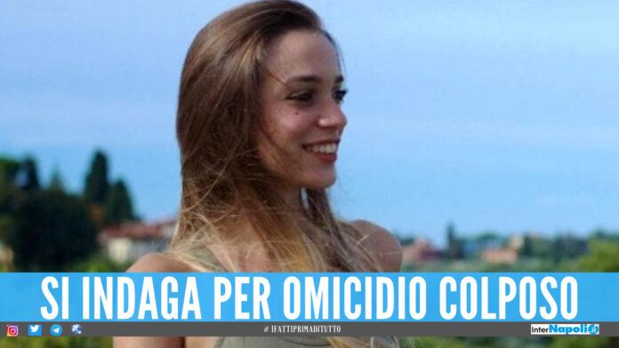 Luana D'Orazio, si indaga per omicidio colposo