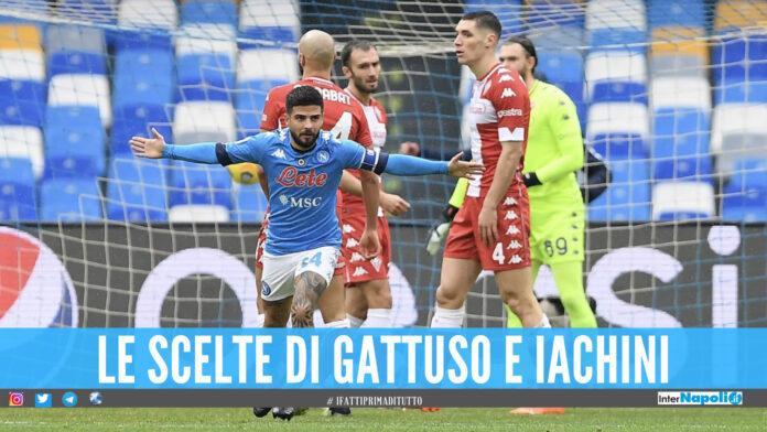 Formazioni ufficiali Fiorentina Napoli