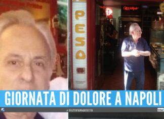 Napoli in lutto per 'Don Ciro', il titolare de 'La Focaccia' stroncato da un infarto