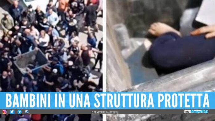 Aggressione alle vele di Scampia: bambini tolti alla famiglia