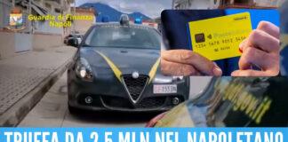 Reddito di cittadinanza, truffa nel Napoletano: 298 persone denunciate