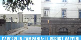 Carceri in Campania: il report vaccini