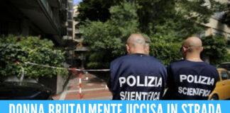 Omicidio choc in strada: marito accoltella moglie. Fermato dai passanti