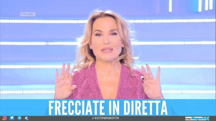Barbara D'Urso: frecciata in diretta dopo le voci di sospensione