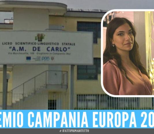 Giugliano De Carlo Premio Campania Europa 2021