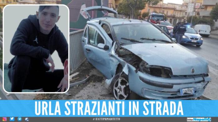 Stefano morto in un incidente, ha perso la vita tra le braccia del padre soccorritore del 118
