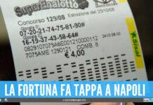 La Dea Bendata bacia Napoli, doppia vincita da 60mila euro con due 5