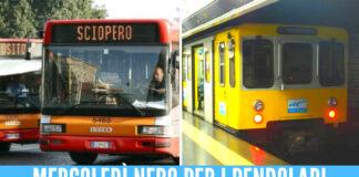Sciopero dei mezzi a Napoli